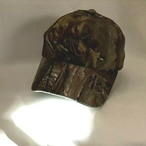 Real Tree Camouflage Powercap Panther Vision Cap